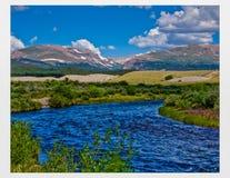 El río Platte Imagenes de archivo