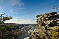 El río Potomac pasa por alto Fotos de archivo libres de regalías