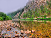 El río puro Imagen de archivo libre de regalías