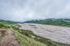 El río Rio Grande en Jujuy, la Argentina Fotografía de archivo