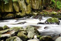El río salvaje presagiado Imagenes de archivo
