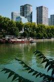 El río Sena. Imagen de archivo libre de regalías