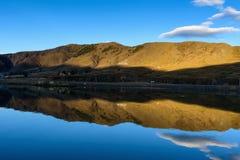 El río silencioso Foto de archivo libre de regalías