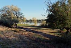 El río Snake, Burley Idaho Foto de archivo