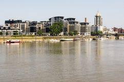 El río Támesis Imágenes de archivo libres de regalías