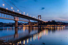 El río Tamar en Plymouth Imagen de archivo libre de regalías