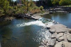 El río Truckee imagen de archivo