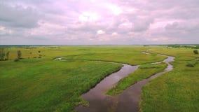 El río Vistula, Polonia metrajes