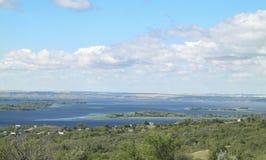 El río Volga Fotos de archivo libres de regalías