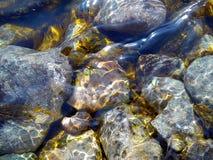El río Yeniséi Imágenes de archivo libres de regalías