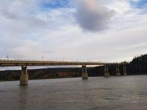 El río Yukón imagenes de archivo