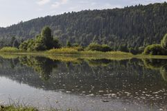 El río Yuryuzan fotografía de archivo libre de regalías