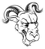 El Ram se divierte la mascota Imagen de archivo libre de regalías