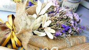El ramo de flores secadas Imagenes de archivo