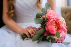 El ramo de la novia Fotografía de archivo
