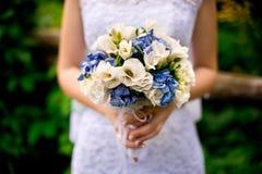 El ramo de la novia y de la boda Fotografía de archivo