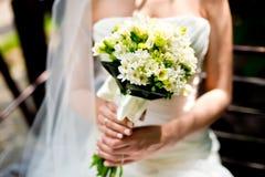 El ramo de la novia y de la boda Imagen de archivo libre de regalías