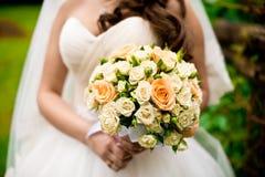 El ramo de la novia y de la boda Fotos de archivo