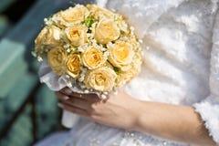 El ramo de la novia y de la boda Imágenes de archivo libres de regalías