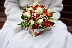 El ramo de la novia y de la boda Foto de archivo libre de regalías