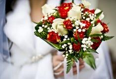 El ramo de la novia y de la boda Fotografía de archivo libre de regalías