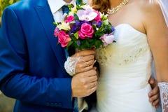 El ramo de los pares y de la boda Imagen de archivo
