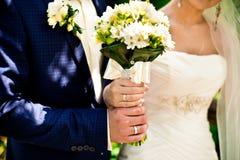 El ramo de los pares y de la boda Foto de archivo