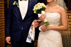 El ramo de los pares y de la boda Fotografía de archivo