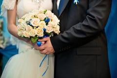 El ramo de los pares y de la boda Fotos de archivo