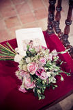 El ramo de una novia Imagen de archivo
