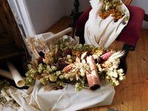 El ramo hermoso para la decoración en casa o la boda Fotografía de archivo