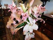 El ramo hermoso para la decoración en casa o la boda Fotografía de archivo libre de regalías