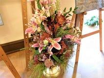 El ramo hermoso para la decoración en casa o la boda Fotos de archivo