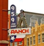 El rancho 95 Estación de radio 9, Fort Worth Tejas Foto de archivo