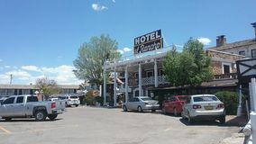 El Rancho Hotel. John Wayne movie Royalty Free Stock Photos