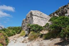 El rastro del valle de Boquer en Majorca Fotografía de archivo