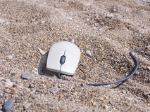 El ratón del ordenador Foto de archivo