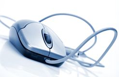 El ratón del ordenador Fotografía de archivo