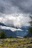 El rayo de la luz Fotos de archivo