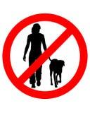 El recorrer con los perros Foto de archivo libre de regalías