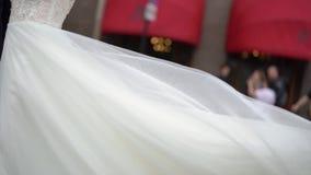 El recorrer de novia y del novio almacen de video