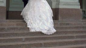 El recorrer de novia y del novio metrajes