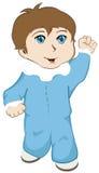 El recorrer del bebé Stock de ilustración