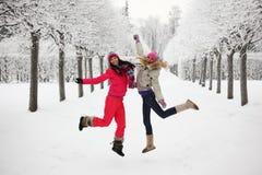El recorrer del invierno Fotografía de archivo libre de regalías
