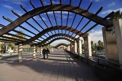 El recorrer en Barcelona Fotografía de archivo libre de regalías