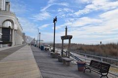 El recorrer en el paseo marítimo Imagen de archivo libre de regalías