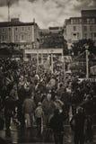 El recorrer en el puerto de Laoghaire del Dun - Co Dublín Imágenes de archivo libres de regalías
