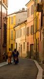 El recorrer en la calle Fotografía de archivo