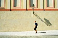El recorrer en la ciudad Fotografía de archivo libre de regalías