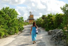 El recorrer en la isla Imágenes de archivo libres de regalías